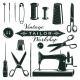 Vintage Tailor Elements Set