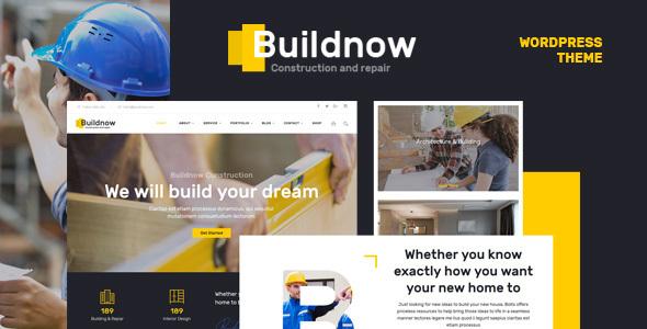 Buildnow - Construction & Building WordPress Theme