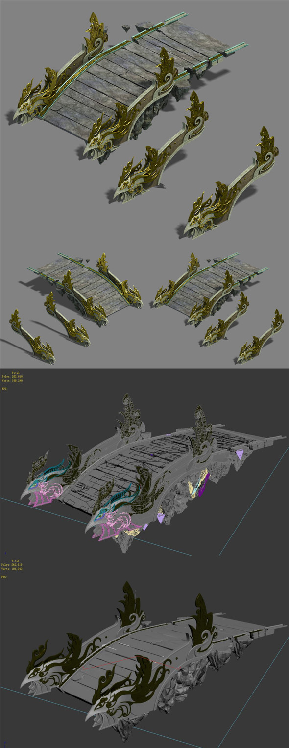 Taoism - Phoenix Bridge - 3DOcean Item for Sale