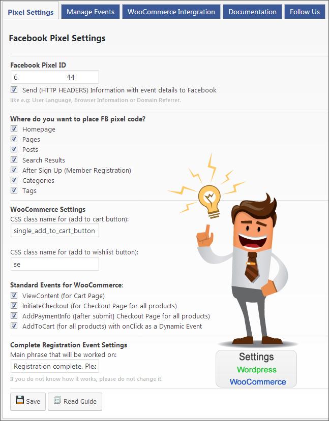 how to add facebook pixel code in wordpress