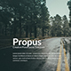 Propus - Creative Powerpoint Template