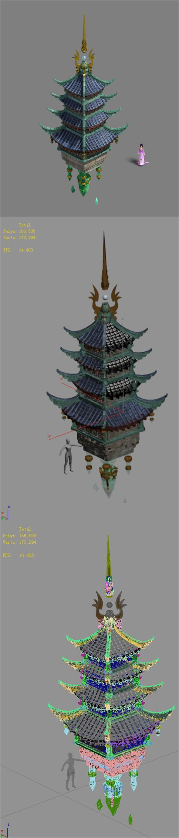 Road Religion - Tower - 3DOcean Item for Sale