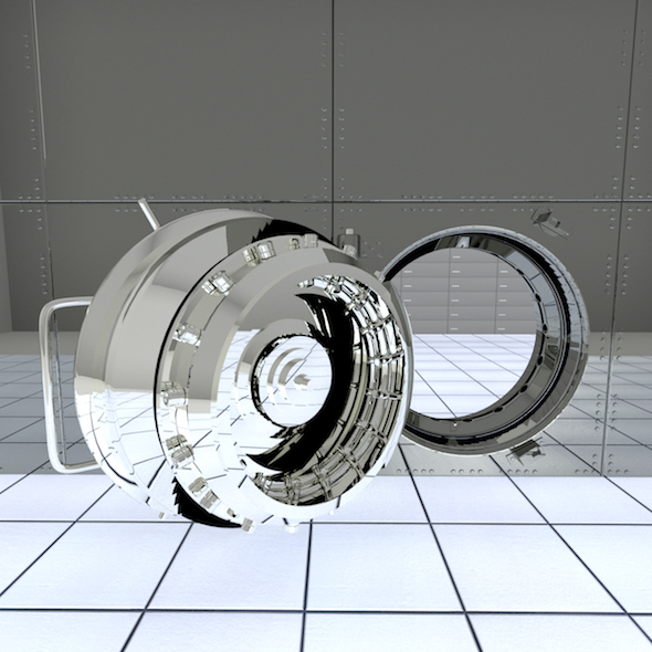 3DOcean Bank Vault 19770496