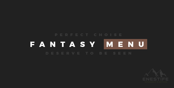 Download Enestife - Fantasy MegaMenu Responsive