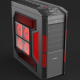 Realistic Illuminated Gaming Computer Desktop PC Case