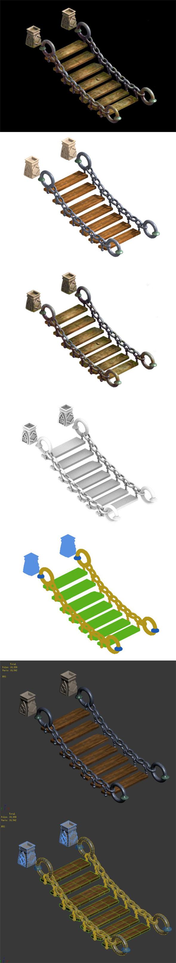 Vermont Ridge - Iron Bridge - 3DOcean Item for Sale