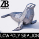Lowpoly Sealion