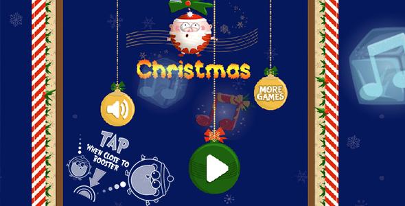 Download Red Christmas Panda - HTML5 Game