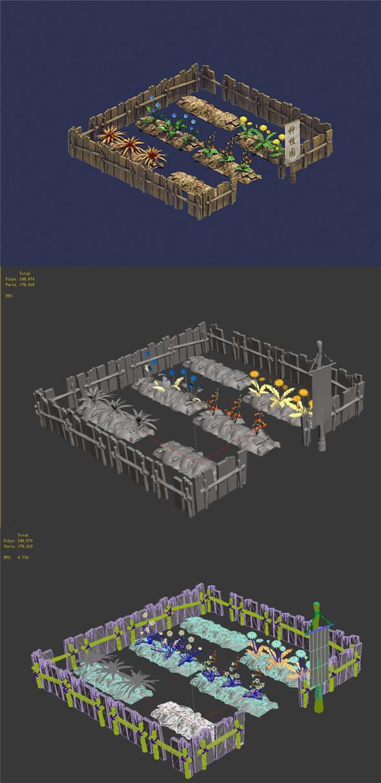 Personal - Plantation 01 - 3DOcean Item for Sale