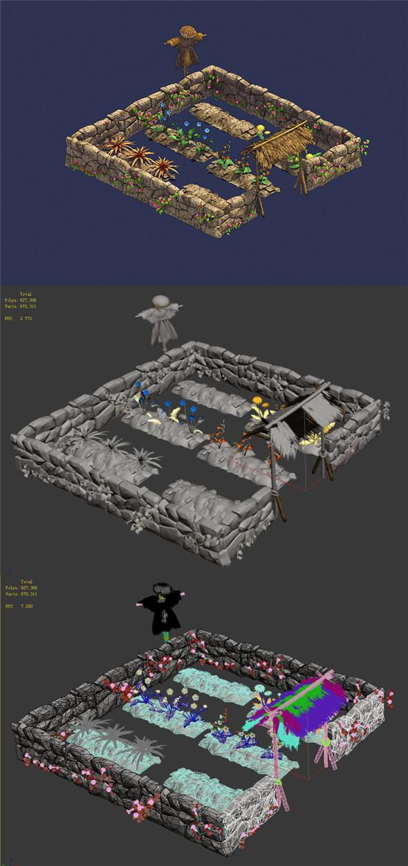 Personal - Plantation 04 - 3DOcean Item for Sale
