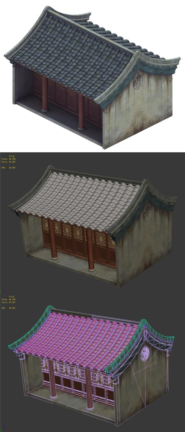 Heyang City - Residence 01 - 3DOcean Item for Sale