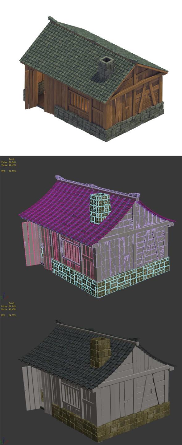 Heyang City - Residence 04 - 3DOcean Item for Sale