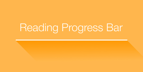 Reading Time — Reading Progress Bar for WordPress (Interface Components)