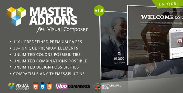 Master Addons for Visual Composer (Add-ons)