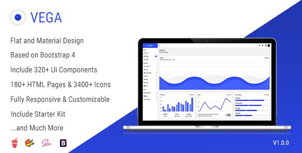 Vega – Responsive Admin Dashboard Template (Admin Templates) images