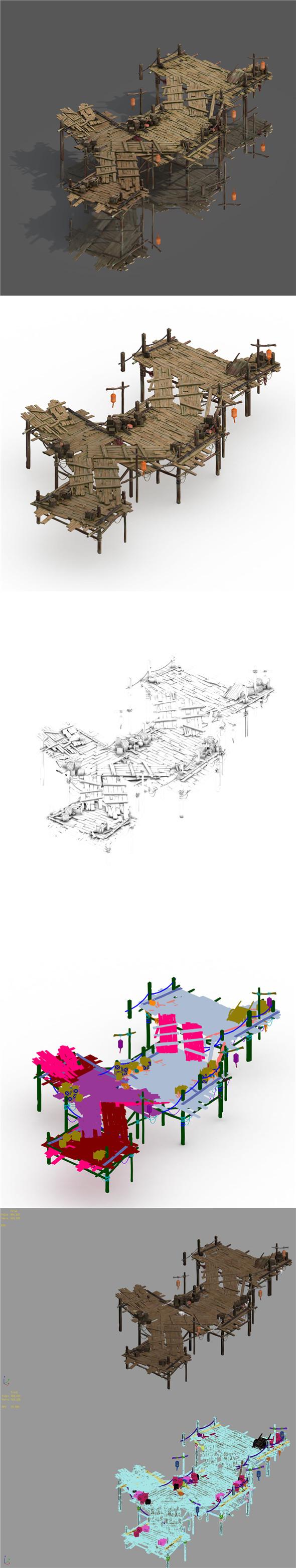 Building - Pier 02 - 3DOcean Item for Sale