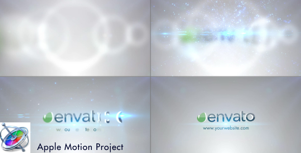 Clean Logo Reveal - Apple Motion