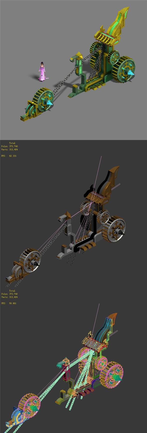 Barracks - war machinery - 3DOcean Item for Sale