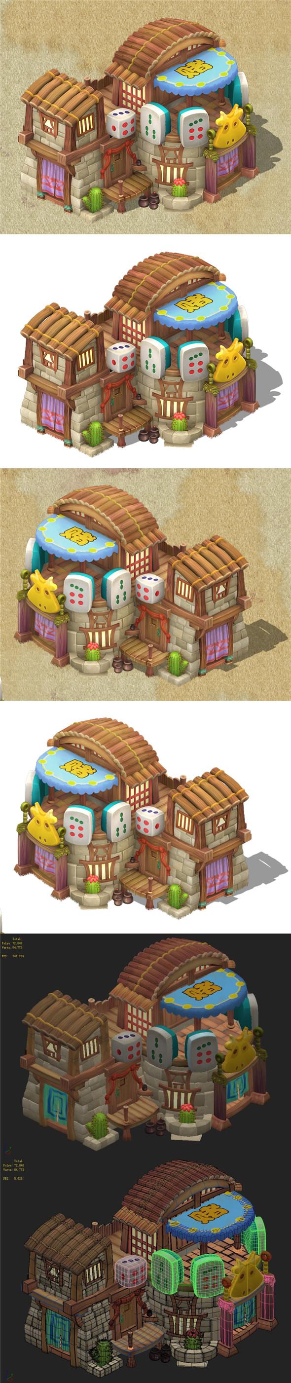Cartoon Edition - Casino 03 - 3DOcean Item for Sale
