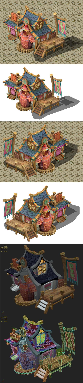 Cartoon version - armor shop - 3DOcean Item for Sale