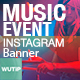10 Instagram Post Banner - Music Event
