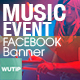 20 Facebook Post Banner - Music Event