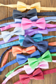 Colorful bowties