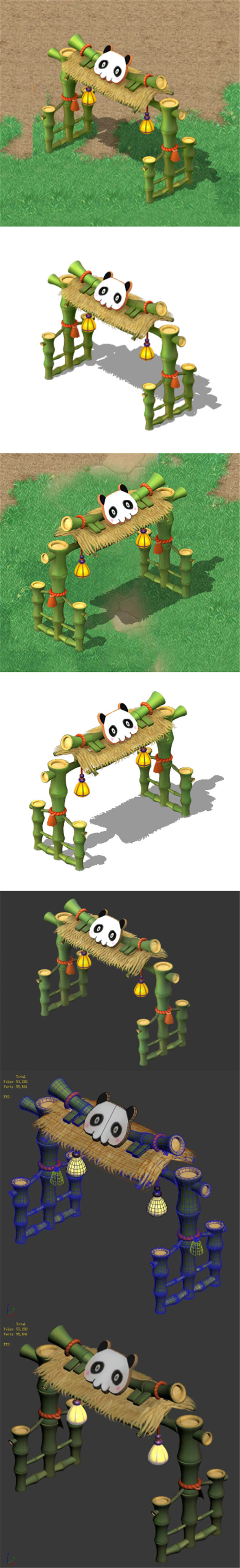 Cartoon World - City Wall 02 - 3DOcean Item for Sale