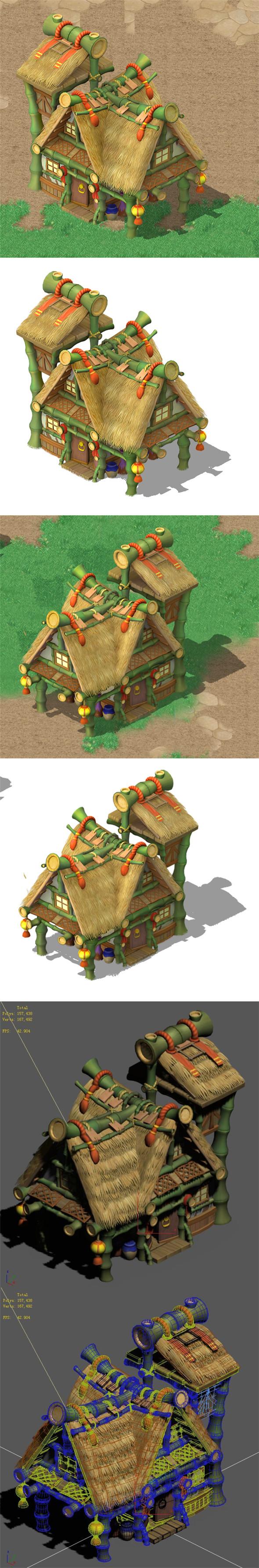 Cartoon World - House 02 - 3DOcean Item for Sale