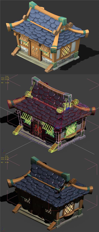 Cartoon World - House 003 - 3DOcean Item for Sale