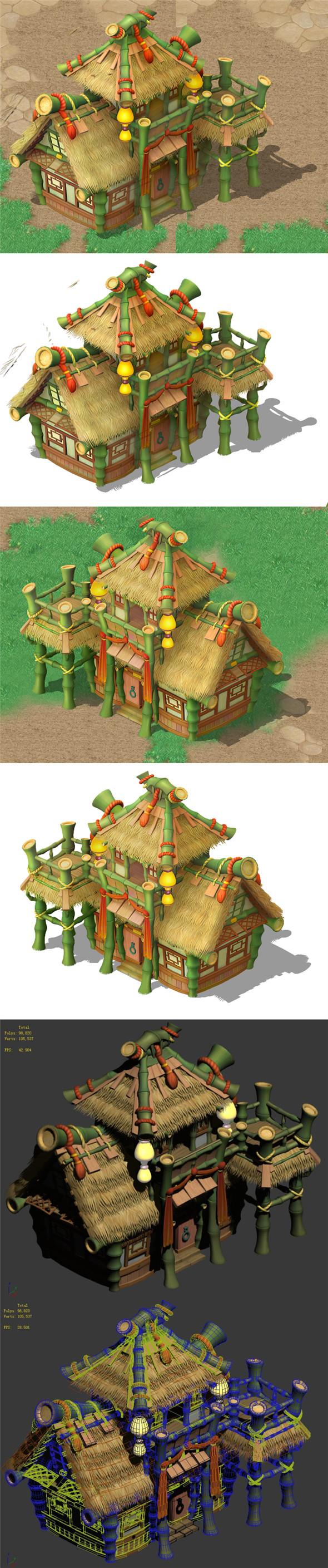 Cartoon World - House 03 - 3DOcean Item for Sale