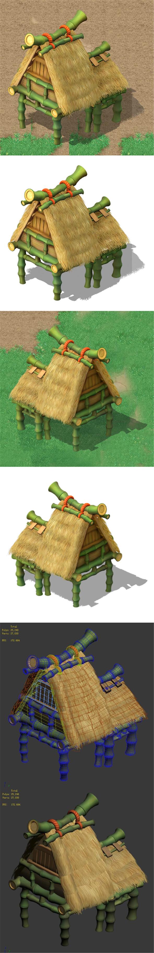 Cartoon World - House 05 - 3DOcean Item for Sale