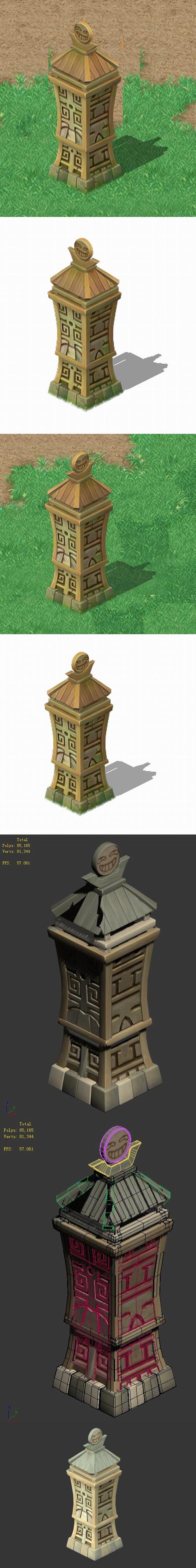 Cartoon world - Wan no border 04 - 3DOcean Item for Sale