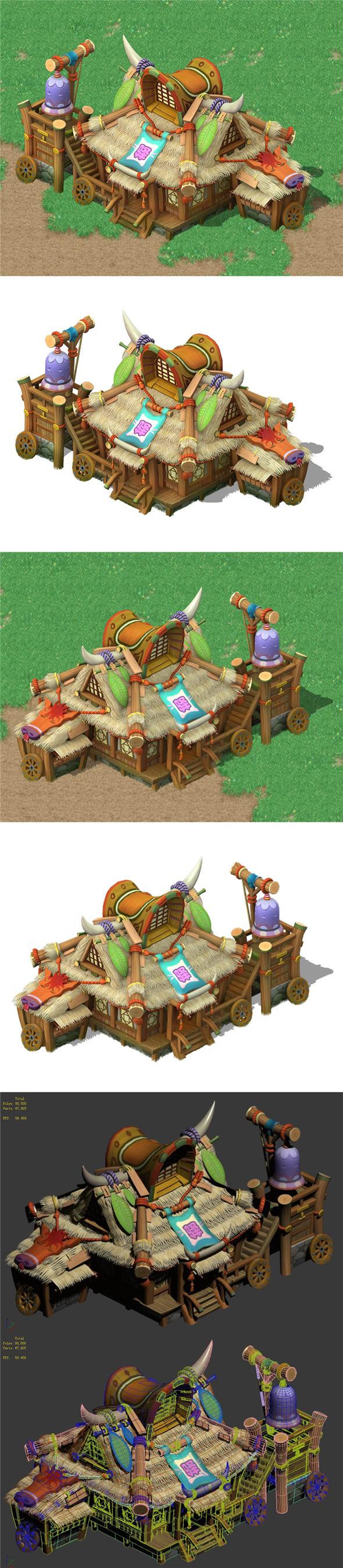 Cartoon World - Inn 04 - 3DOcean Item for Sale