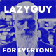 LazyGuy – Personal Landing Page Template for Everyone (Miscellaneous)