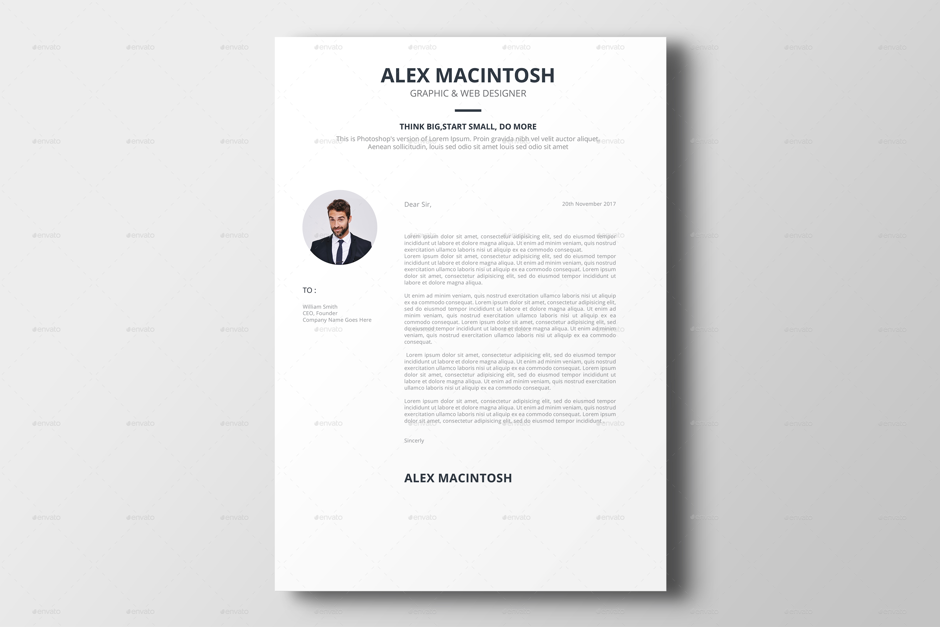 Cover Letter For Graphic Design Resume