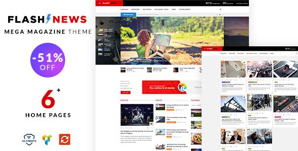 Flash News - Magazine, News Theme