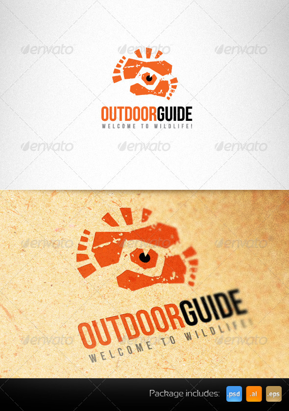 Outdoor Guide Creative Logo Template - Humans Logo Templates