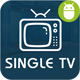Single TV With Material Design