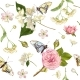 Flower Butterfly Banners