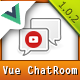 Modern Chat Rooms - Vue.js multimedia web chat application