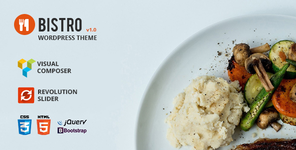 Bistro - Food & Restaurant WordPress