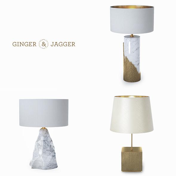 3DOcean Ginger & Jagger lamps 19784180