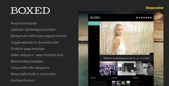 Boxed WordPress Theme