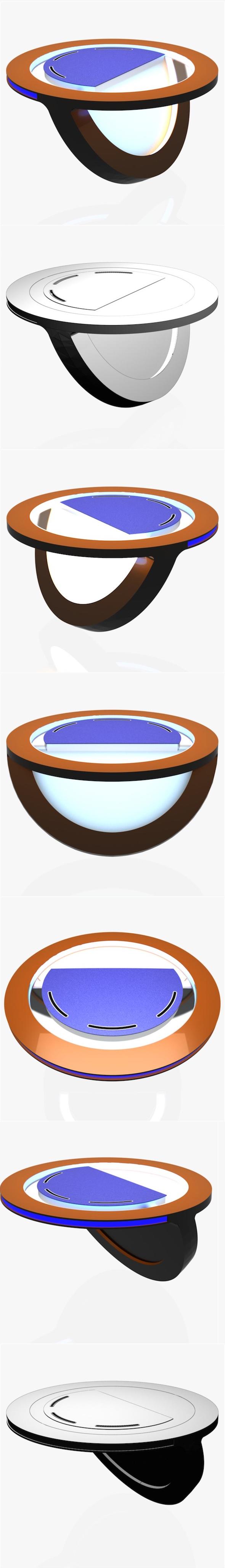 Virtual Tv Studio News Desk 10 - 3DOcean Item for Sale