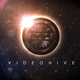 Earth Space Eclipse Logo