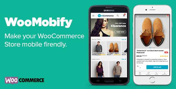 WooMobify - WooCommerce Mobile Theme