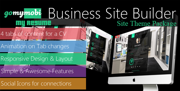 gomymobiBSB's Site Theme: My Resume (Add-ons) images