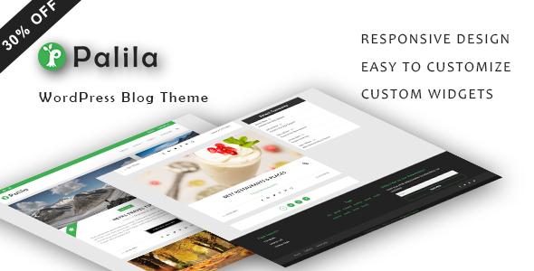 Palila - WordPress Blog Theme