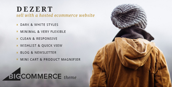 Dezert BigCommerce Shopping Theme